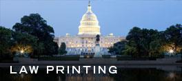 Law Printing, Legal Printing